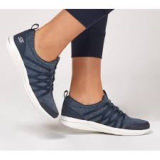Lime Shoe Co-Berwick upon Tweed-Skechers-Trainer-Navy-Comfort-Flat-Memory Foam-Slip On-Spring-Summer-2020