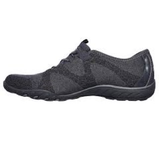Lime Shoe Co-Berwick upon Tweed-Skechers-Black-Trainer-Memory Foam-Slip On-Comfort-Spring-Summer-2020