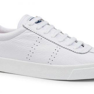 Berwick upon Tweed-Lime Shoe Co-Superga-white-animal print-trainer-laces-summer