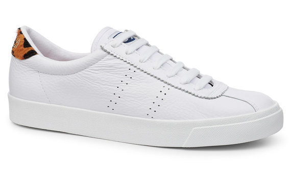 Berwick upon Tweed-Lime Shoe Co-Superga-white-animal print-trainer-laces-summer
