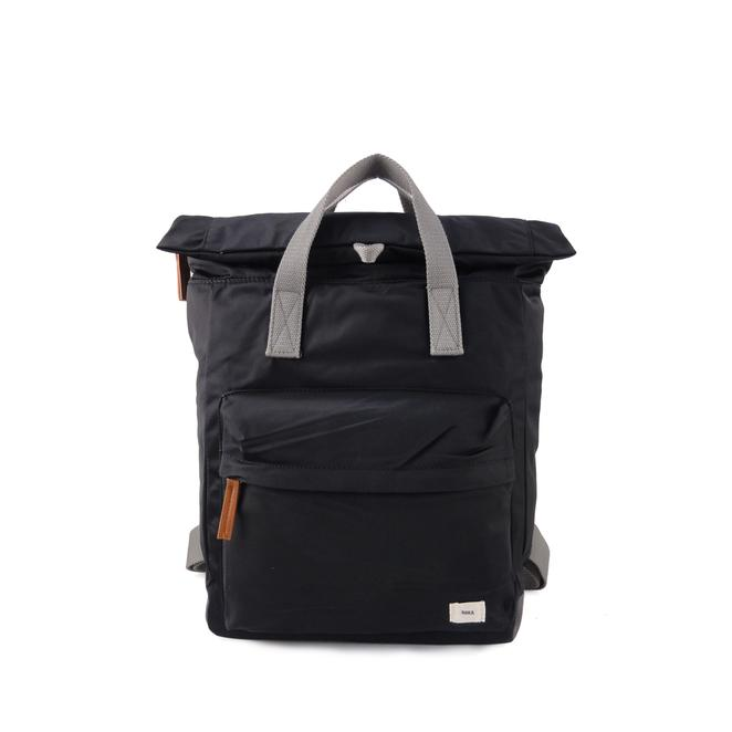 Berwick upon Tweed-Lime Shoe Co-Roka London-Black-Canfield B-Medium-Unisex-Bags