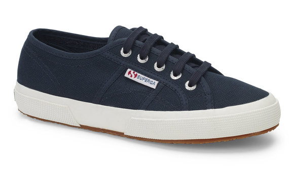 Berwick upon Tweed-Lime Shoe Co-Superga-Navy-White-Cotu classic-unisex-summer