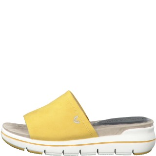 Lime Shoe Co-Berwick upon Tweed-Marco Tozzi-Spring-Summer-2020-Vegan-Slip On-Comfort-Flat-Yellow