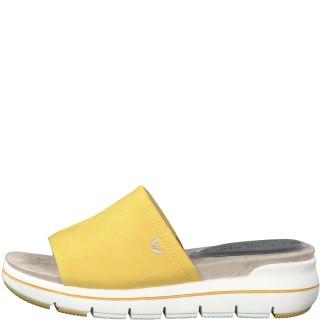 Lime Shoe Co-Berwick upon Tweed-Marco Tozzi-Spring-Summer-2020-Vegan-Slip On-Comfort-Flat-Yellow