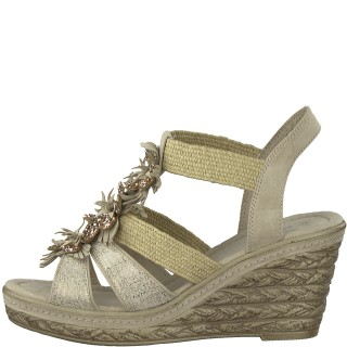 Lime Shoe Co-Berwick upon Tweed-Marco Tozzi-Wedge-Spring-Summer-2020 Beige
