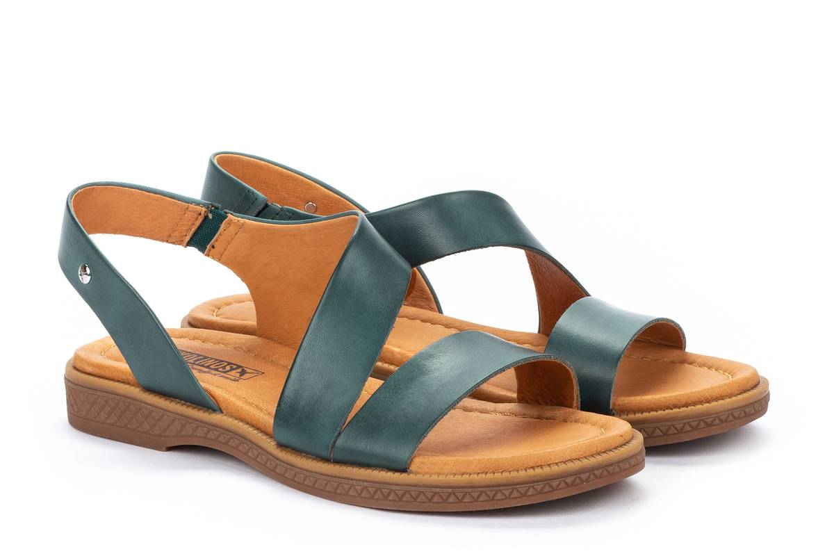 Berwick upon Tweed-Lime Shoe Co-Pikolinos-Green-Sandal-summer-comfort