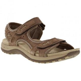 Lime Shoe Co-Berwick upon Tweed-Earth Spirit-Frisco-Brown-Velcro Fastening-Spring-Summer-2020-Flat-Comfort