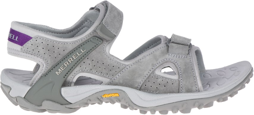 Berwick upon Tweed-Lime Shoe Co-Merrell-Sandal-Walking-Velcro-Summer-Grey