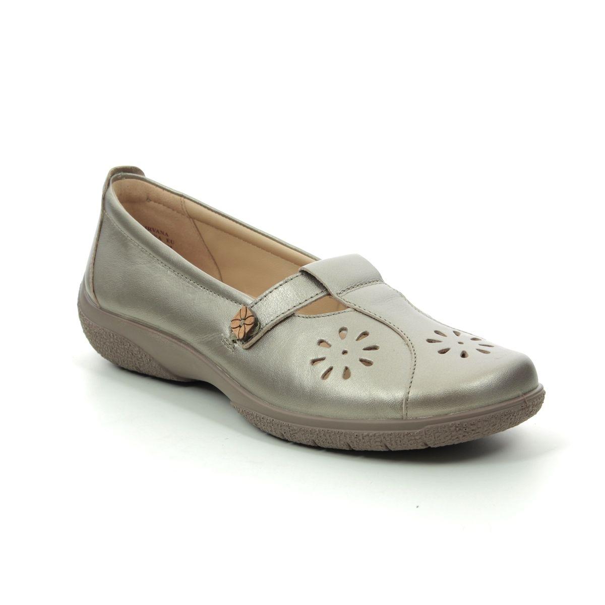 Berwick upon Tweed-Lime Shoe Co-Hotter-Nirvana-Nickel-Metallic-Sandals-summer-comfort-velcro