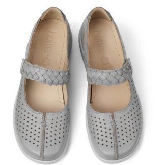 Berwick upon Tweed-Lime Shoe Co-Hotter-Quake-Sky Blue-Sandal-Summer-Comfort-Velcro