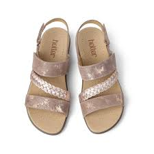 Berwick upon Tweed-Lime Shoe Co-Hotter-Rose Gold-Sandal-Summer-Comfort
