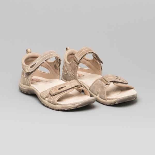 Berwick upon Tweed-Lime Shoe Co-Earth Spirit-Savannah-Beige-Suede-comfort-sandal-velcro-summer