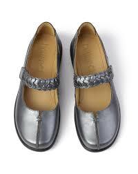 Berwick upon Tweed-Lime Shoe Co-Hotter-Metallic-Mary Jane-shoe-comfort-summer