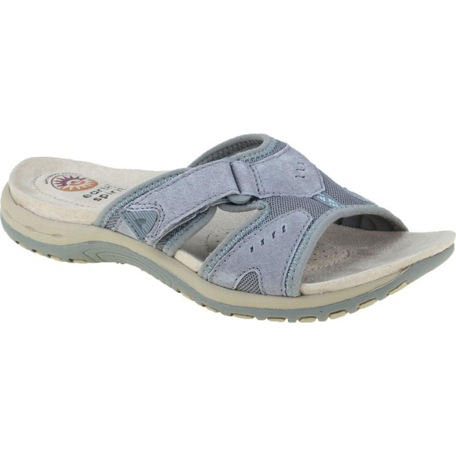 Berwick upon Tweed-Lime Shoe Co-Earth Spirit-Wickford-frost grey-mule-slip on-summer-sandal