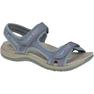 Lime Shoe Co-Berwick upon Tweed-Earth Spirit-Frisco-Frost-Grey-Ladies-Spring-Summer-2020-Velcro Fastening-Flat-Comfort-Support