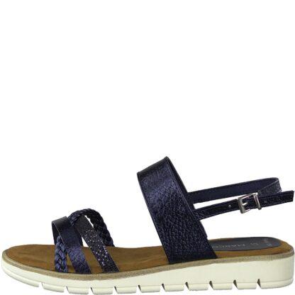 Berwick upon Tweed-Lime Shoe Co-Marco Tozzi-Navy-sandal-comfort-summer