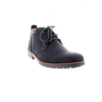 Berwick upon Tweed-Lime Shoe Co-Rieker-Gents-Mens-Blue-Ankle Boot-Laces-Winter-Comfort-Autumn