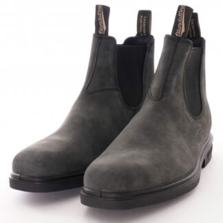 Berwick upon Tweed-Lime Shoe Co-Blundstone-Rustic Black-Pull on-finger tab-Unisex-chelsea boots