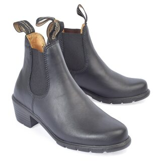 Berwick upon Tweed-Lime Shoe Co-Blundstone-Black-Ladies-Ankle Boot-Pull Tab-Winter-Autumn-Black