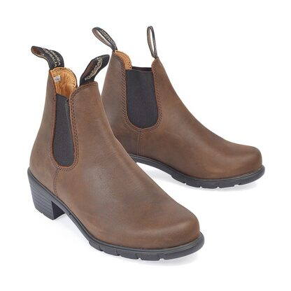 Berwick upon Tweed-Lime Shoe Co-Blundstone-Brown-Ladies-ankle boots-pull tab-stack heel-autumn-winter