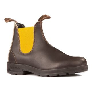 Berwick upon Tweed-Lime Shoe Co-Blundstone-Brown-Mustard-Chelsea-pull tab-leather-winter-autumn-comfort