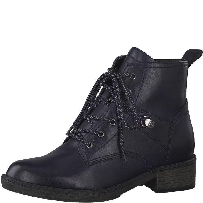 Tamaris Ladies Navy Ankle Boot (25116