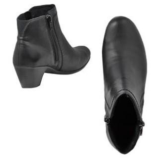 Lime Shoe Co-Berwick upon Tweed-Reiker-A/W 2020-Black-Ankle Boot-Side Zip-Block Heel-Comfort-Leather