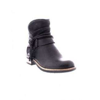 Berwick upon Tweed-Lime Shoe Co-Rieker-Ankle Boots-Block Heel-Black-Ankle Strap-Side Zip-Autumn-Winter