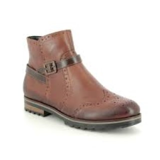 Lime Shoe Co-Berwick upon Tweed-Remonte-Brown-Ankle Boot-Side Zip-Autunm-Winter-2020-Comfort