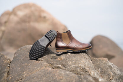 Berwick upon Tweed-Lime Shoe Co-Remonte-leather-brown-ankle boot-chelsea-zip-brogue-autumn-winter-comfort