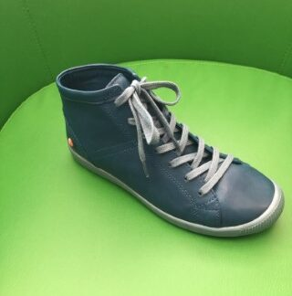 Lime Shoe Co-Berwick upon Tweed-Softino-Isleen-Denim blue-Soft-Leather-Comfort-Lace Up-Autumn-Winter-2020