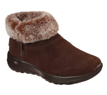 Berwick upon Tweed-Lime Shoe Co-Skechers-Chocolate Brown-Suede -Warm Lined-cosy-winter-autumn