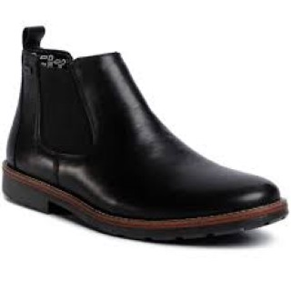 Lime Shoe Co-Berwick upon Tweed-Rieker-Black-Gents-Boot-Autumn-Winter-Comfort-Leather