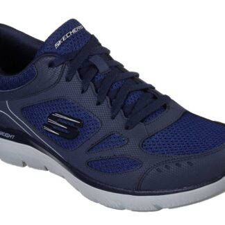 Berwick upon Tweed-Lime Shoe Co-Skechers-Gents-Mens-Navy-Trainers-comfort