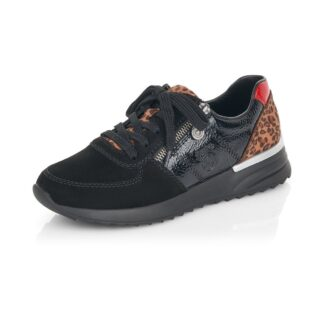 Berwick upon Tweed-Lime Shoe Co-Rieker-Trainer- Memory Foam-comfort-autum-winter-leopard-leather