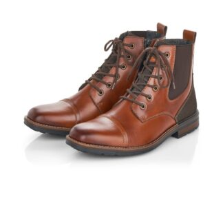 Berwick upon Tweed-Lime Shoe Co-Rieker-Gents-Mens-Brown-leather-boots-comfort-winter-autumn