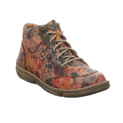 Berwick upon Tweed-Lime Shoe Co-Josef Seibel-Leather-Print-floral-ankle boots-comfort-autumn-winter