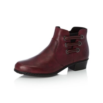Berwick upon Tweed-Lime Shoe Co-Rieker-Ankle Boot-Red-Bordo-Winter-Autumn-Comfort