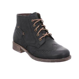 Berwick upon Tweed-Lime Shoe Co-Josef Seibel-Leather-Black-Laces-Winter-autumn-comfort