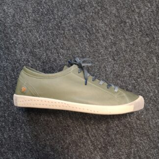 Berwick upon Tweed-Lime Shoe Co-Softinos-Green-blue-diesel-soft-leather-laces-casual