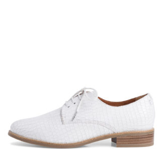 Berwick upon Tweed-Lime Shoe Co-Tamaris-Leather-Ladies-White-Summer-comfort