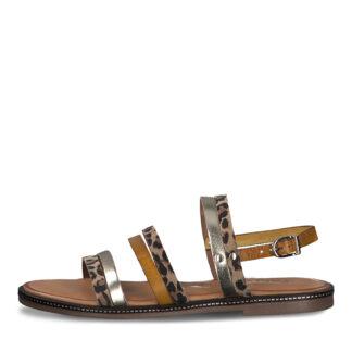 Lime Shoe Co-Berwick upon Tweed-Tamaris-Ladies-Sandal-Leather-Flat-Spring-Summer-2021