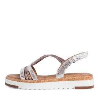 Lime Shoe Co-Berwick upon Tweed-Tamaris-Ladies-Sandal-Velcro-Leather-28711-Spring-Summer-2021