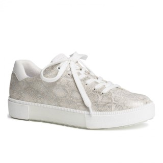 Lime Shoe Co-Berwick upon Tweed-Marco Tozzi-Ladies-Summer-Trainer-Lace Up-Spring-2021-Flat-Comfort