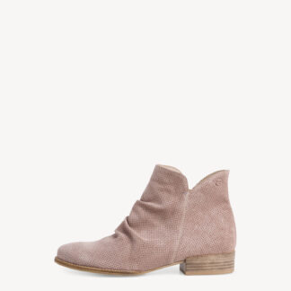 Berwick upon Tweed-Lime Shoe Co-Tamaris-leather-taupe-summer-spring-ankle boot-leather