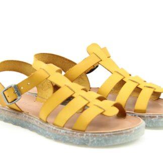 Lime Shoe Co-Berwick upon Tweed-Sandalika-Leather-Yellow-Spring-Summer-2021-Sandal-Bright-Comfort