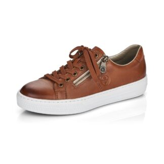 Berwick upon Tweed-Lime Shoe Co-Rieker-leather-tan-trainers-comfort-summer