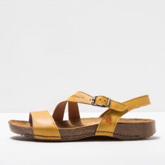 Lime Shoe Co-Berwick upon Tweed-Art-Summer-Spring-2021-Corn-Sandal-Buckle-Flat-Comfort