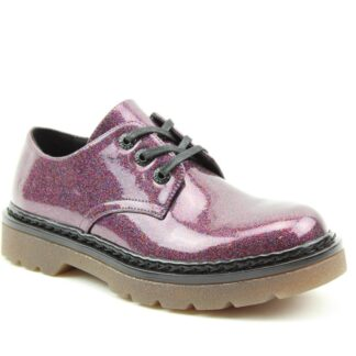 Lime Shoe Co-Berwick upon Tweed-Heavenly Feet-Liberty-Purple-Glitter-Shoe-Spring-Summer-2021-Lace Up-Comfort-Flat