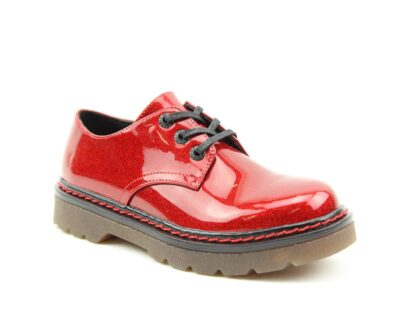 Lime Shoe Co-Berwick upon Tweed-Heavenly Feet-Red-Glitter-Liberty-Shoe-Spring-Summer-2021-Lace Up-Comfort-Flat
